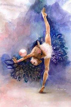 RG /Yana Kudryavtseva (Russia) /painting by Ksenia Semenchuk /Strekosa Desing
