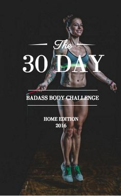 Badass Body T Christmas Abbott Challenge At Home Workouts Get In