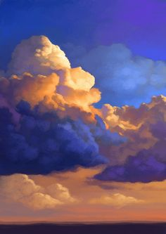 CLOUD PAINTINGS on Behance