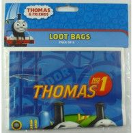 1013 - Thomas and Friends Loot Bags. Pack of 8 Thomas & Friends Lootbags, High x Wide) - Pack of 8 Disney Balloons, Helium Balloons, Latex Balloons, Wholesale Party Supplies, Kids Party Supplies, Wedding Balloons, Birthday Balloons, Balloon Decorations, Baby Shower Decorations