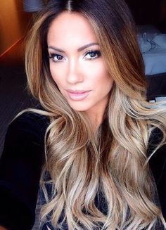 I wanna go lighter with my balayage - All For Hair Color Trending Balayage Hair, Ombre Hair, Haircolor, Hair Color And Cut, Great Hair, Gorgeous Hair, Hair Looks, Pretty Hairstyles, Hair Trends