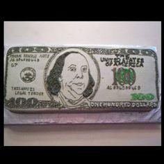 100 dollar bill cakes