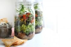Superfood Burrito in a Jar