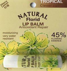 Popular 6 Tastes Florid Lip Balm Antioxidant repair cute Balm Girls Sexy Lip Augmentation Balm Smacker Lipstick P286F