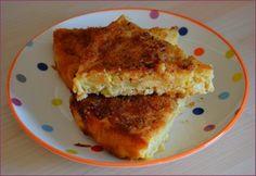 Gâteau aux pommes, noisettes et caramel