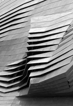 Check this out on leManoosh.com: #Architecture #Concrete #Origami #Parametric #Structure #Vent