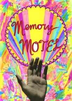Memory Motel, 2013, Texta, coloured pencil and collage on paper.