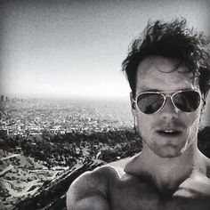 Sam Heughan -- You're welcome, lassies.  Soon to be Jamie Fraser.  Lord have mercy.