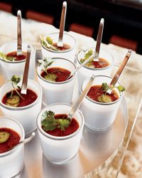 Grilled-Vegetable Gazpacho - Healthy Soups on Food & Wine