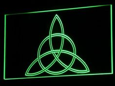 Charmed Triquetra LED Neon Sign