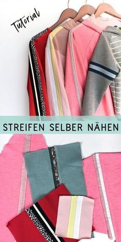 Most recent Absolutely Free Sewing clothes retro Tips Retrostripes nähen Easy Sewing Projects, Sewing Projects For Beginners, Sewing Hacks, Sewing Tutorials, Sewing Tips, Sewing Ideas, Sewing Patterns Free, Free Sewing, Hand Sewing