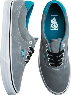 Vans Era 59 Shoe Like the color Mode Masculine, Nike Outfits, Vans Shoes, Shoes Sneakers, Grey Shoes, Shoes Heels, Vans Era 59, Tenis Vans, Shoes Outlet