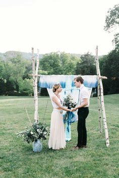 Indigo Design Inspiration by Cedarwood Weddings | Cedarwood Weddings