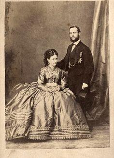 Gaetano Borbon-Two Sicilies and bride, Infanta Isabel of Spain aka LA Chata