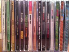 My Green Day album collection