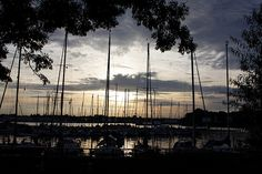 Sunset, Neustadt, Schleswig-Holstein