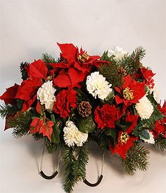 155 best headstone saddle designs images on pinterest cemetery cemetery flowers christmas google search mightylinksfo