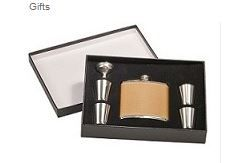 Custom Flask Gift Set