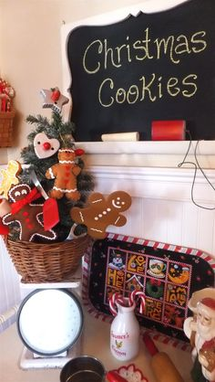Ash Tree Cottage: My Cookie Baking Christmas Tree