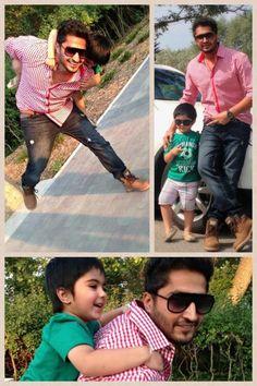 Jg with his cute bhanja