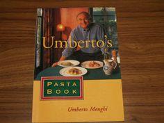 Umberto's Pasta Book - Halifax Books - Used books , Rare Books , text books located in Halifax Used Books, Textbook, Pasta, Class Books, Pasta Recipes, Pasta Dishes