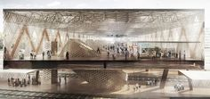AZPML-architects-rabat-agdal-masterplan-and-train-station-morocco-designboom-02: