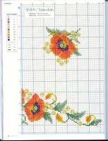 "Gallery.ru / irisha-ira - Альбом ""7"" Cross Stitch Embroidery, Cross Stitch Patterns, Flowers For You, Stitch 2, Cross Stitch Flowers, Handicraft, Crochet, Poppies, Needlework"