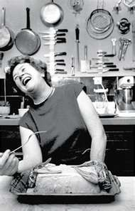 Julia Child and her laugh - what a passion for life!