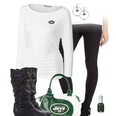New York Jets Leggings Outfit