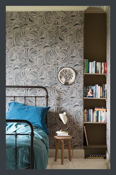 62 Ideas For Room Wallpaper Bedroom Farrow Ball Geometric Wallpaper, Trendy Wallpaper, New Wallpaper, Bedroom Wallpaper, Wallpaper Ideas, Wallpaper Jungle, Farrow Ball, Cool Wallpapers For Walls, Free Wallpaper Samples