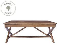 Mesa de centro de madera de roble Provence