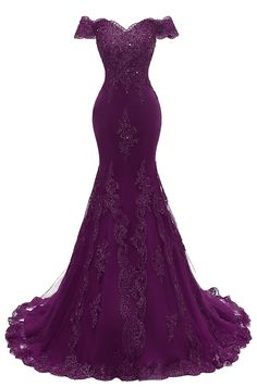 online shopping for Himoda Women's V Neckline Beaded Evening Gowns Mermaid Lace Prom Dresses Long from top store. See new offer for Himoda Women's V Neckline Beaded Evening Gowns Mermaid Lace Prom Dresses Long Purple Evening Gowns, Beaded Evening Gowns, Evening Party Gowns, Evening Dresses, Mermaid Evening Gown, Afternoon Dresses, Pretty Dresses, Beautiful Dresses, Sexy Dresses