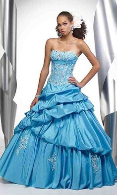 Baby Blue Embellished Gown £199.99 in sizes 6-22 + custom size available here www.madetomeasuredresses.info x