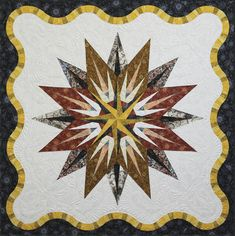 Vintage Compass, Made by Quiltworx.com