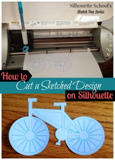 Silhouette School: Silhouette Sketch Pen Tutorial: How to Cut Out a Sketched Design