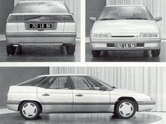 OG | 1989 Citroën XM - Y30 project | Bertone proposal