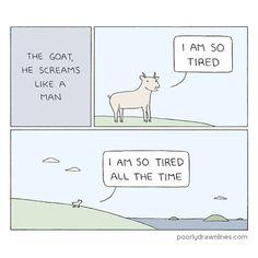 Goat #poorlydrawnlines