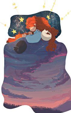 Sweet dream, girl