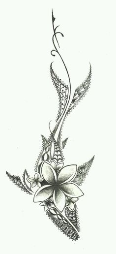 this is a drawing design i did for a tattoo! its a shark with traditional polynesian designs. and yea some flowers. Hai Tattoos, Makeup Tattoos, Love Tattoos, Beautiful Tattoos, Body Art Tattoos, Small Tattoos, Tatoos, Cute Henna Tattoos, Design Tattoos