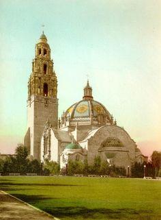 California Building - Panama-California Exposition Digital Archive | Balboa Park