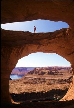Jewel Box, Lake Powell, Utah. Lake Powell is a reservoir on the Colorado River, straddling the border between Utah and Arizona (most of it, along with Rainbow Bridge, is in Utah). Exploring the area is great travel fun!