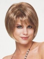 Straight Short Hairstyles for Older Women Above 40 and 50