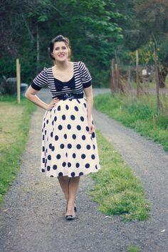 Baby #2, 22 weeks   Stripes, polka dots, and bows
