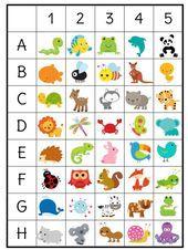 Açıkça belirtilmiş bir başlangıcı ve sonu olan Kindergarten Lesson Plans, Preschool Worksheets, Learning Activities, Preschool Activities, Kids Learning, Coding For Kids, Math For Kids, Diy For Kids, Visual Perception Activities