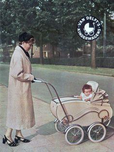 Bringing Up A Child Advice For Young And Old Alike! Vintage Stroller, Vintage Pram, Pram Stroller, Baby Strollers, Bring Up A Child, Delft, Prams And Pushchairs, Baby Buggy, Baby Prams