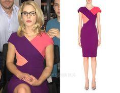 Felicity: Pink and Purple Two Tone Dress – Arrow Fashion Blog