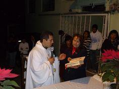 3er Día del Novenario en honor a la Virgen de Guadalupe.