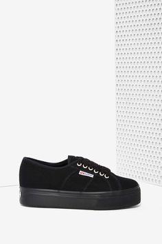 b517609c97a Superga Up and Down Platform Sneakers - Black Superga Shoes