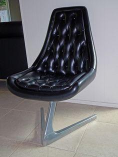 Chromcraft Sculpta Chairs (a.k.a Star Trek Chairs) Nice Desk chair