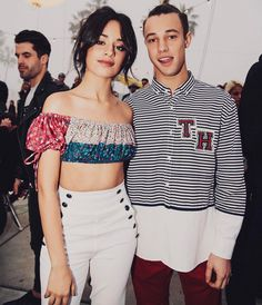 """167.5k Likes, 2,038 Comments - @bryant on Instagram: """"Today at the @tommyhilfiger fashion show w/ @camila_cabello & @camerondallas ⚡#tommynow"""""""